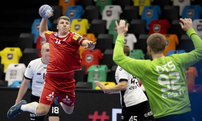 AUT, EHF EM 2022 Qualifikation, Oesterreich vs Estland