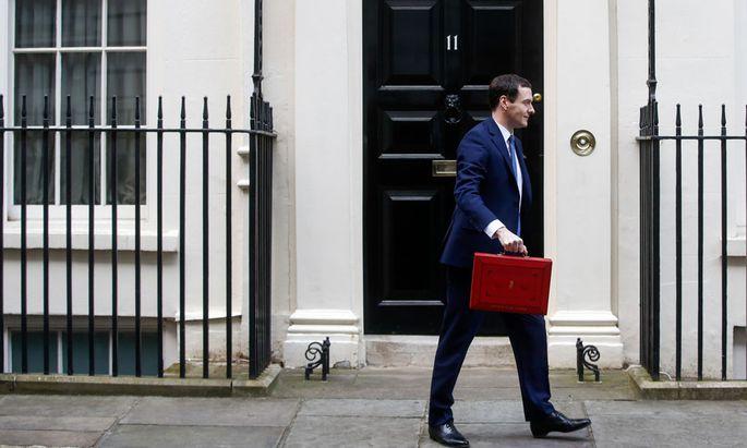 Wenn Großbritannien der EU den Rücken kehrt, muss auch Schatzkanzler Osborne seine Erwartungen zurückschrauben