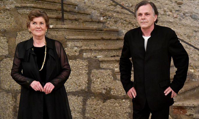 Die Salzburger-Festspiel-Präsidentin Helga Rabl-Stadler und Intendant Markus Hinterhäuser.