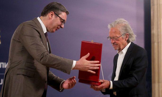 SERBIA-AUSTRIA-POLITICS-LITERATURE-AWARD