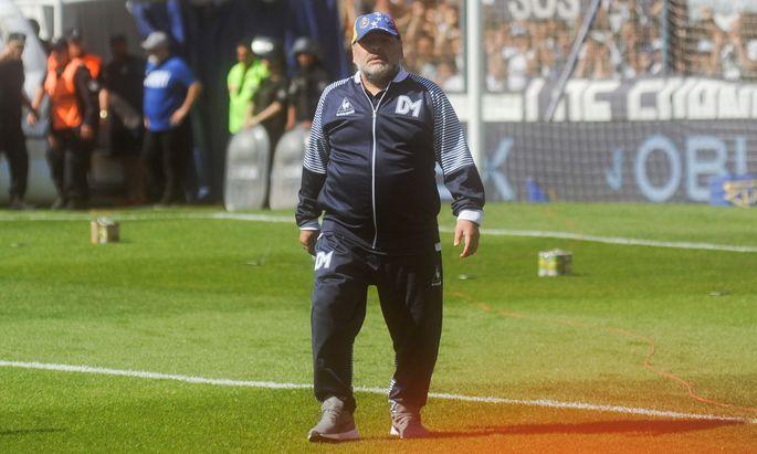 Diego Maradona em Buenos Aires BUENOS AIRES, AR - 02.11.2019: DIEGO MARADONA EM BUENOS AIRES - Diego Maradona during th