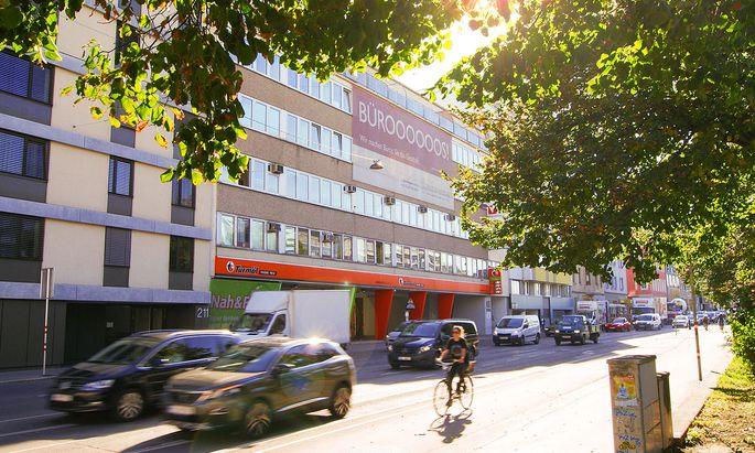 Günstige Kleinbüros wie hier in der Schönbrunnerstraße könnten von der Covid 19-Krise profitieren.
