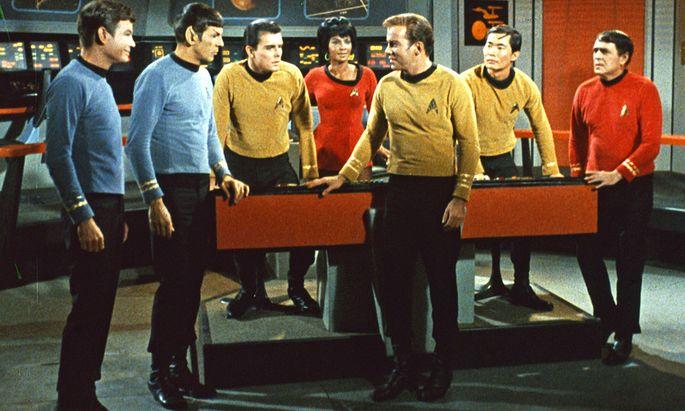 Star Trek schwarze Pionierin