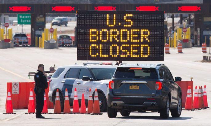 Green Card für die USA - Trump: Einwanderungs-Stopp zunächst für 60 Tage