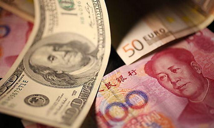 Yuan wird von China künnstlich niedrig gehalten