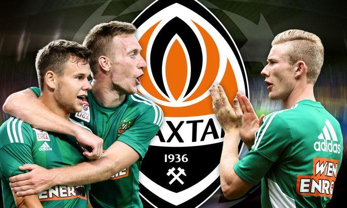 SOCCER - UEFA CL play off, Rapid vs Shakhtar