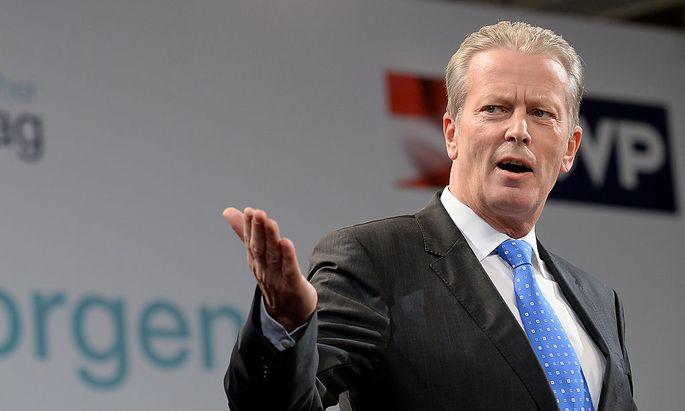 Parteiobmann Reinhold Mitterlehner