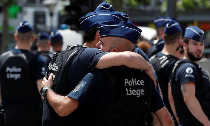 Die Polizei in Lüttich trauert um zwei Kolleginnen.