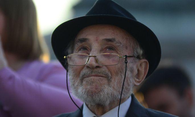 Zeitzeuge Aba Lewit Holocaust �berlebender PUBLICATIONxINxGERxSUIxAUTxHUNxONLY 1057304969