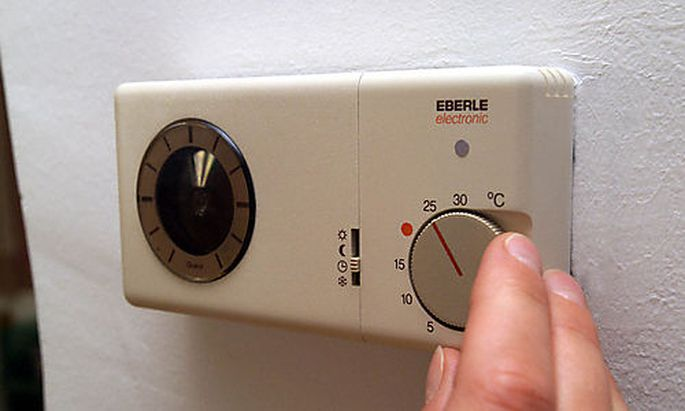 Temperaturregler einer Heizanlage