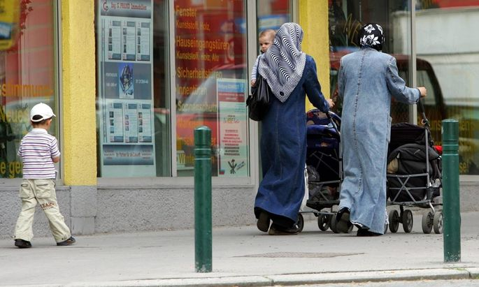 Muslimische Frauen in Wien