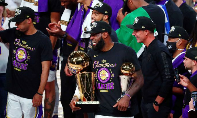 Los Angeles Lakers sind NBA-Champion