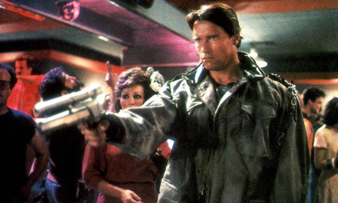Terminator THE TERMINATOR USA 1984 Regie James Cameron ARNOLD SCHWARZENEGGER Key Waffe Revo