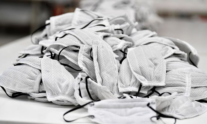 Salzburg will die lokale Maskenproduktion ankurbeln.