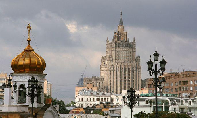 Russland, Moskau, Aussen- und Aussenhandelsministerium
