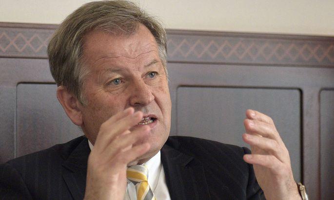 Immofinanz-Chef Eduard Zehetner