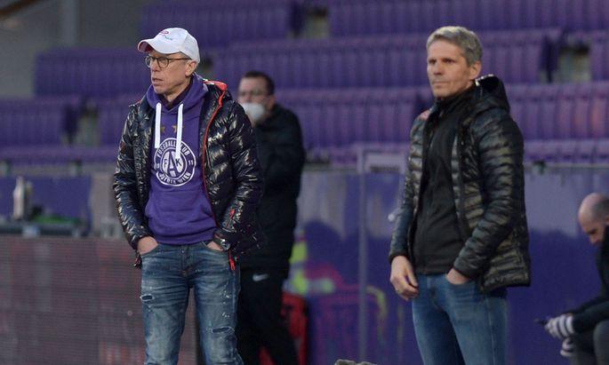 FUSSBALL: TIPICO BUNDESLIGA / GRUNDDURCHGANG: FK AUSTRIA WIEN - SK RAPID