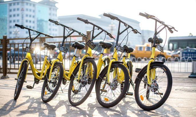 Mitte August soll eine Testphase mit 200 Fahrrädern in der Wiener Leopoldstadt starten.