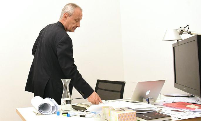 Also doch kein Rücktritt vom Rücktritt: Peter Pilz sorgte mit seiner Zickzacklinie kurzzeitig für Verwirrung.