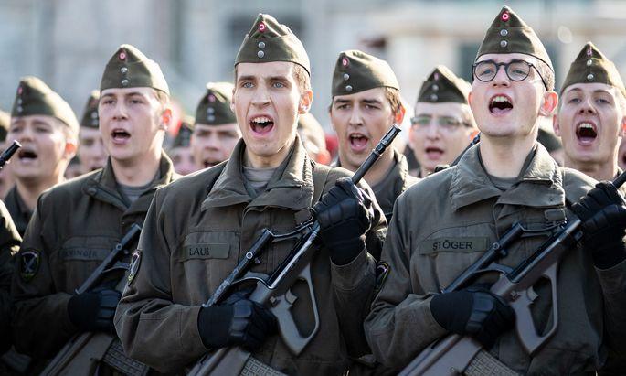 Österreichs Soldaten werden nicht Teil einer gemeinsamen europäischen Armee