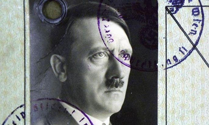 BRITAIN-HITLER-PASSPORT