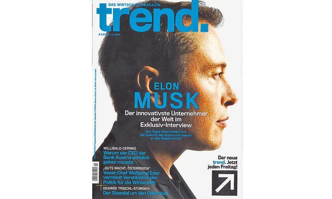 """Der """"Trend."""": Inhaltlich mehr """"Format"""" als """"Trend""""."""