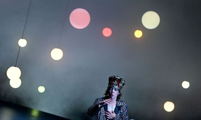 SALZBURGER FESTSPIELE 2021: FOTOPROBE 'RICHARD THE KID & THE KING'
