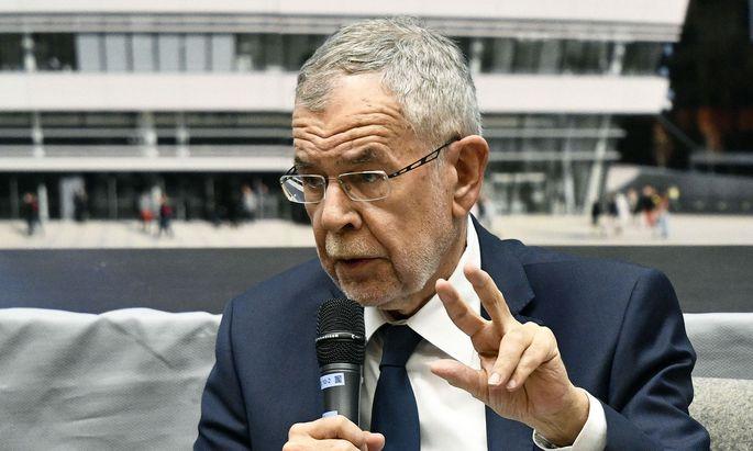 Bundespräsident Alexander Van der Bellen diskutierte mit preisgekrönten Autoren über die EU