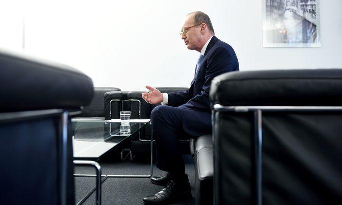 Othmar Karas hatte ÖVP-Koalitionspartner FPÖ für deren Europalinie kritisiert. Nun hofft er mit den Grünen auf eine Wende.