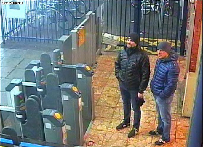 Das von den britischen Behörden veröffentlichte Foto der Verdächtigen.