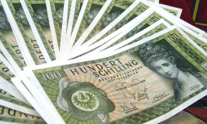 THEMENBILD: 100 SCHILLING-BANKNOTE