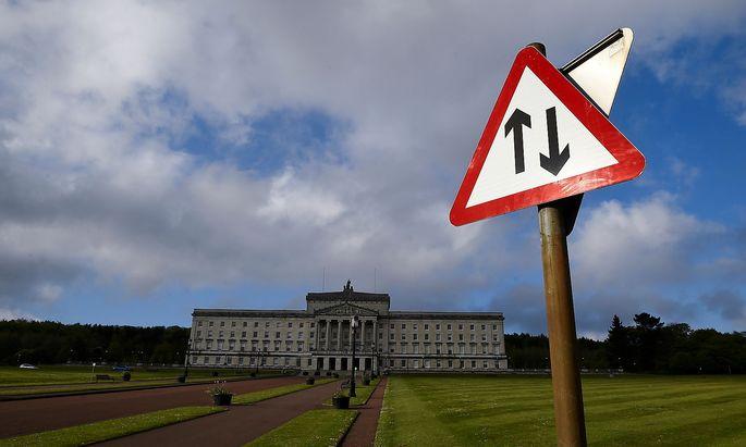 Das Parlamentsgebäude in der nordirischen Hauptstadt Belfast.