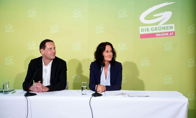 Robert Luschnik und Eva Glawischnig