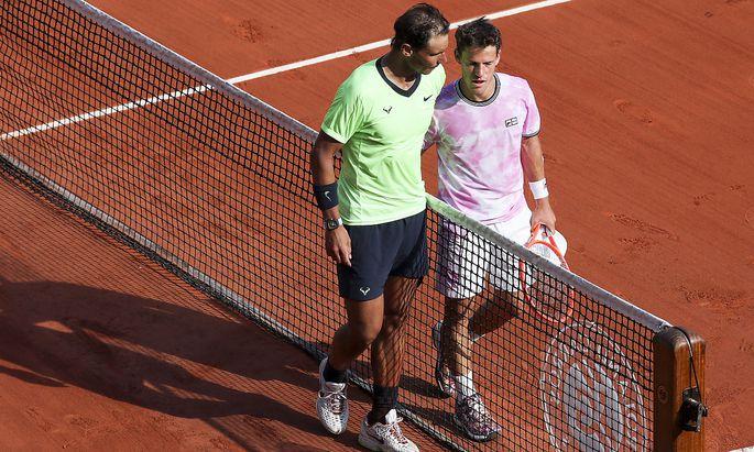 Nadal (li.) ließ Schwartzman gegen Ende der Partie keine Chance mehr.