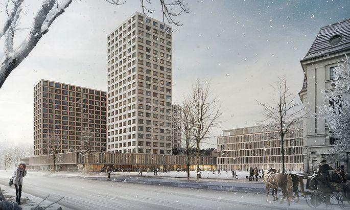 Neugestaltung des Areals Heumarkt/Lothringerstrasze: Architekt Isay Weinfeld (Brasilien) Sieger des Architekturwettbewerbs