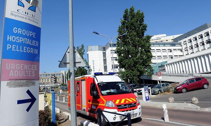 CHU hospital Pellegrin in Bordeaux