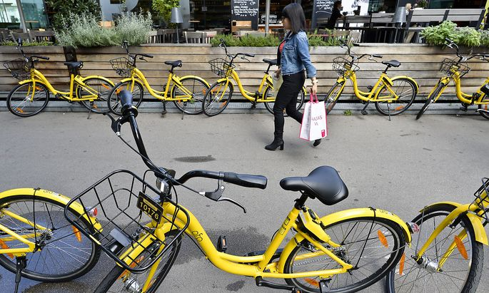 Ofo-Start in Wien