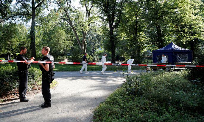 Der Kleine Tiergarten in Berlin-Moabit wurde Ende August zum Tatort eines Mordes, der die diplomatischen Wogen hochgehen lässt.