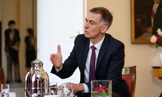 Deutschlands Botschafter in Wien, Ralf Beste.