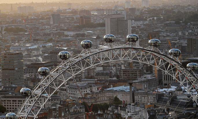 Am 9. März 2000 drehte das London Eye seine ersten Runden.