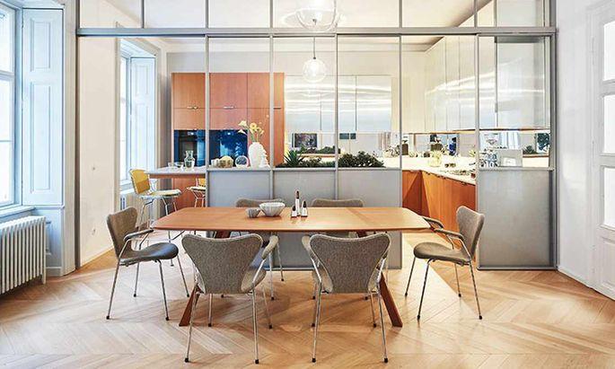 Eine Altbau-Wohnung ganz neu: gestaltet von Studio Labvert.