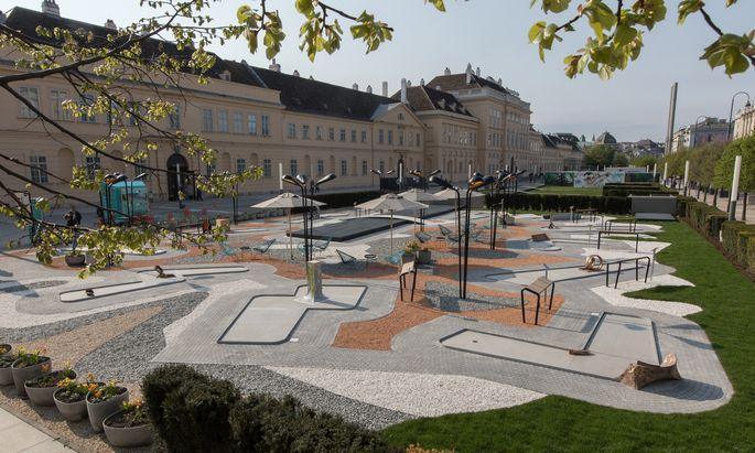 Skulpturenpark mit dem klingenden Namen MQ Amore.