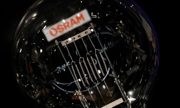 Es wird knapp. Soll die Übernahme gelingen, muss AMS noch 23 Prozent der Osram-Titel einsammeln.