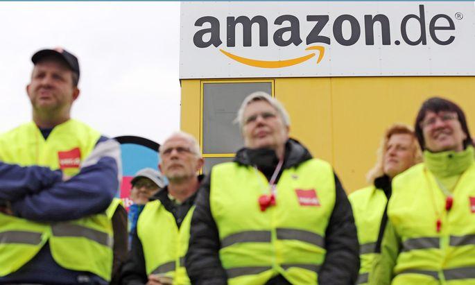 Streiks Amazon Deutschland Weihnachtsgeschaeft