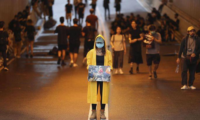 Die Proteste in Hongkong halten weiter an.