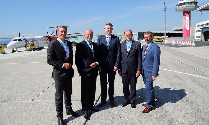 LILIHILL praesentiert den Masterplan fuer den Airport Klagenfurt