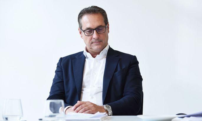 FPÖ-Ex-Parteichef Heinz-Christian Strache.