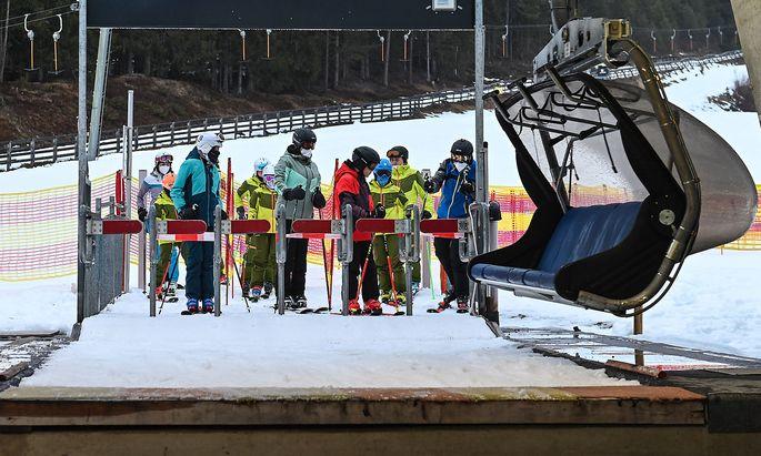 Das Skifahren lockt offenbar nicht nur einheimische Gäste an.