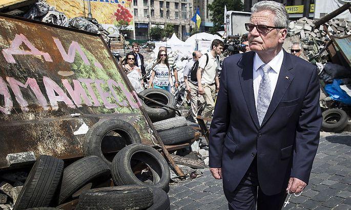 UKRAINE GERMANY GAUCK DIPLOMACY