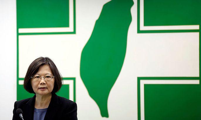 Tsai ist die erste weibliche Präsidentin Taiwans.